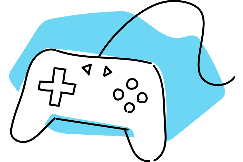 Game consoles key concepts. Gaming clipart gamer