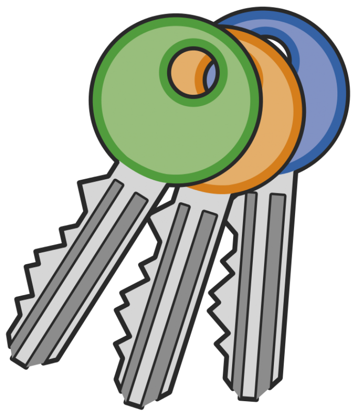 keys clipart classroom