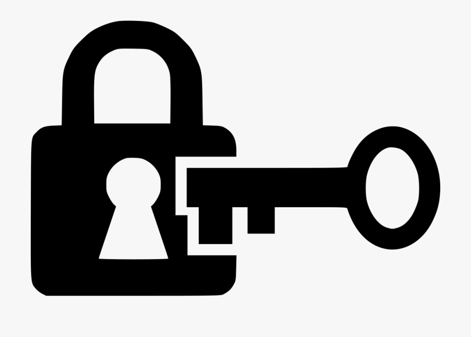 Png free . Lock clipart lock and key