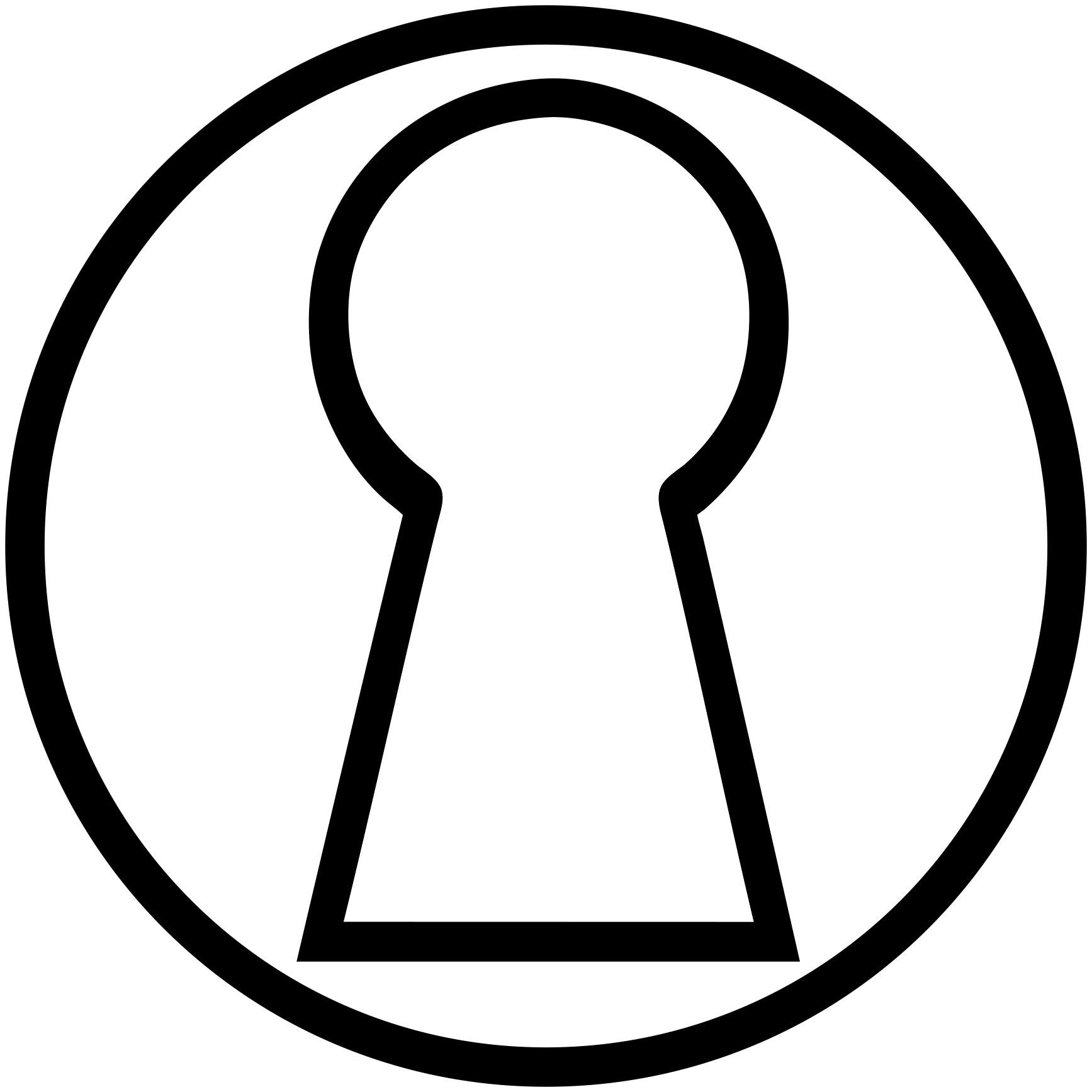Drawing at getdrawings com. Clipart key keyhole