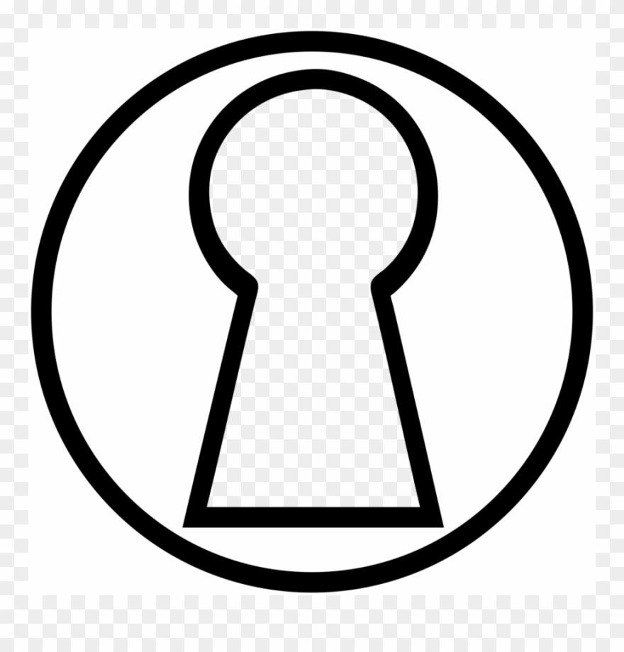 Hole drawing clip art. Clipart key keyhole