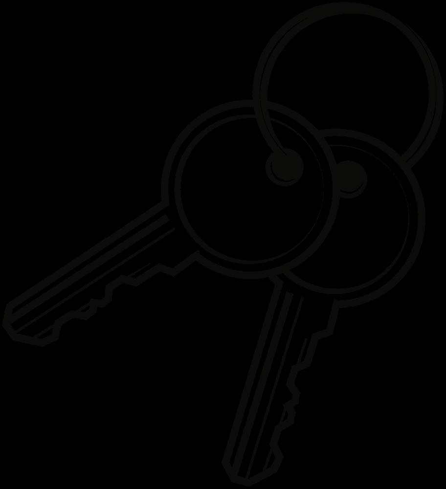Onlinelabels clip art keys. Clipart key line drawing
