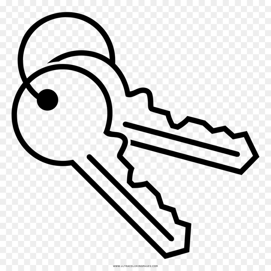 Clipart key llave. Book black and white