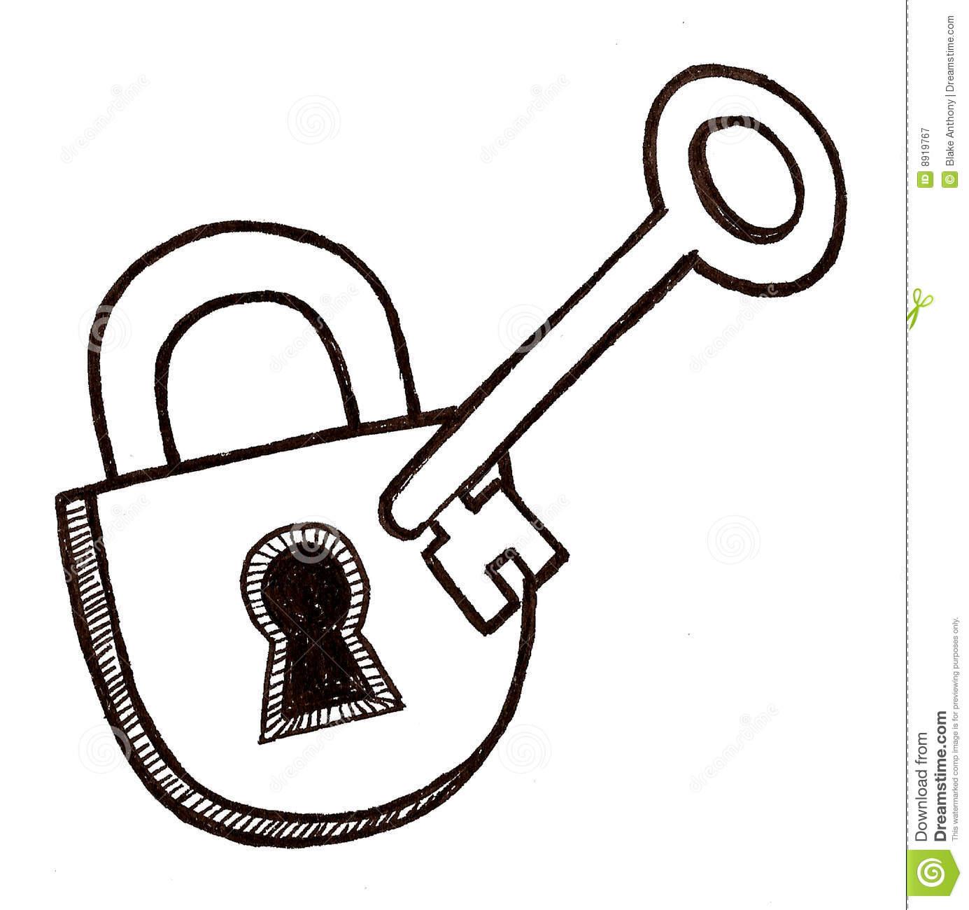 Key clipart kid. Locked door free download