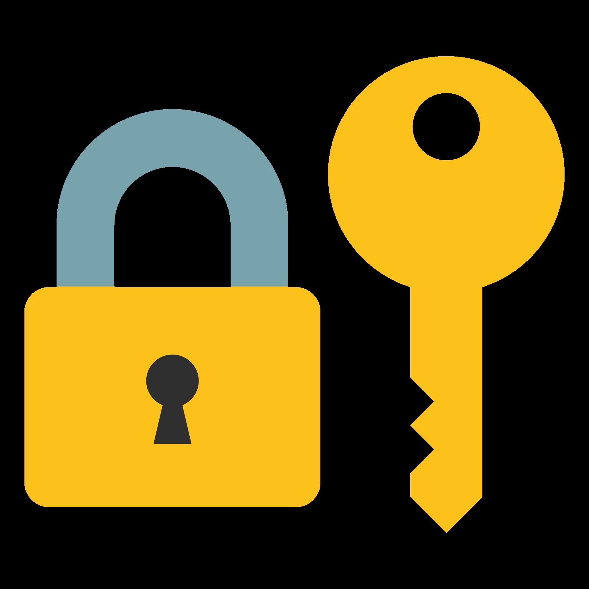 Lock clipart lock and key. File emoji u f