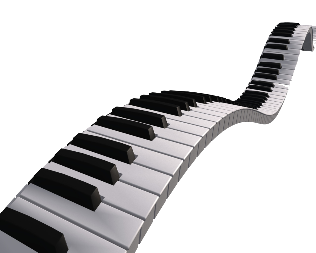 White clipart piano. Note trainer music flash