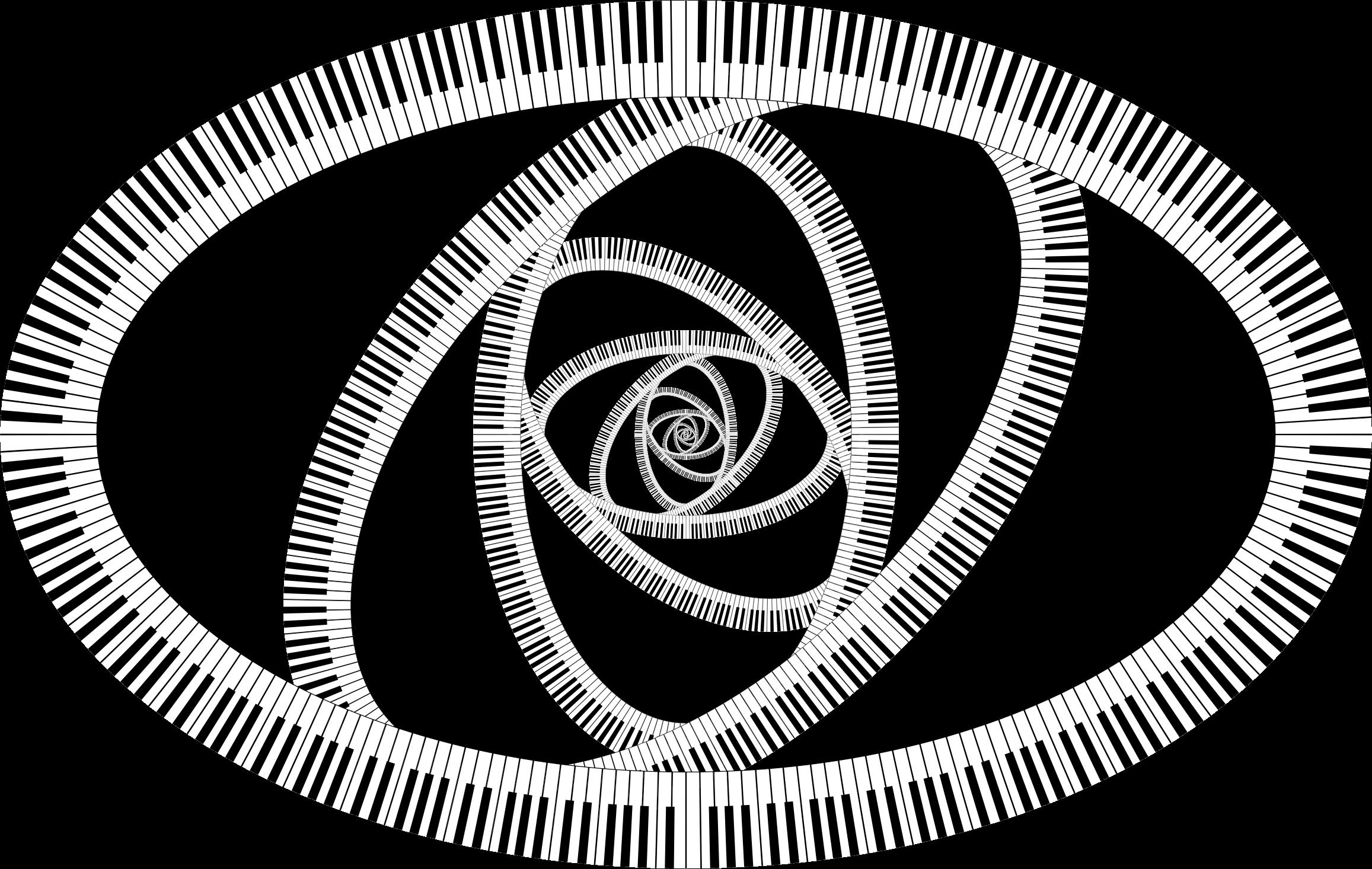 Keys drawing at getdrawings. Clipart piano swirl