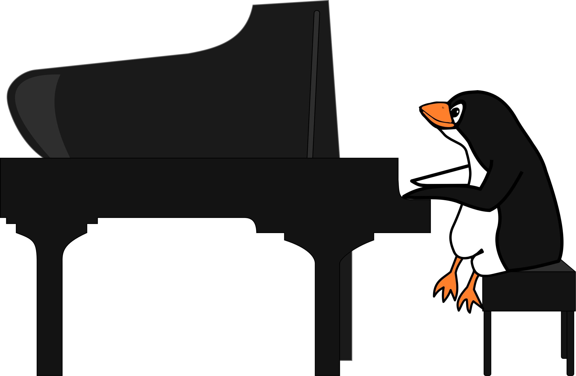 Musical keyboard clip art. Piano clipart pianist