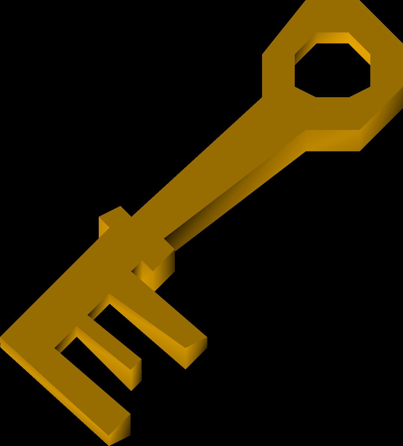 Brass key old school. Door clipart dorr