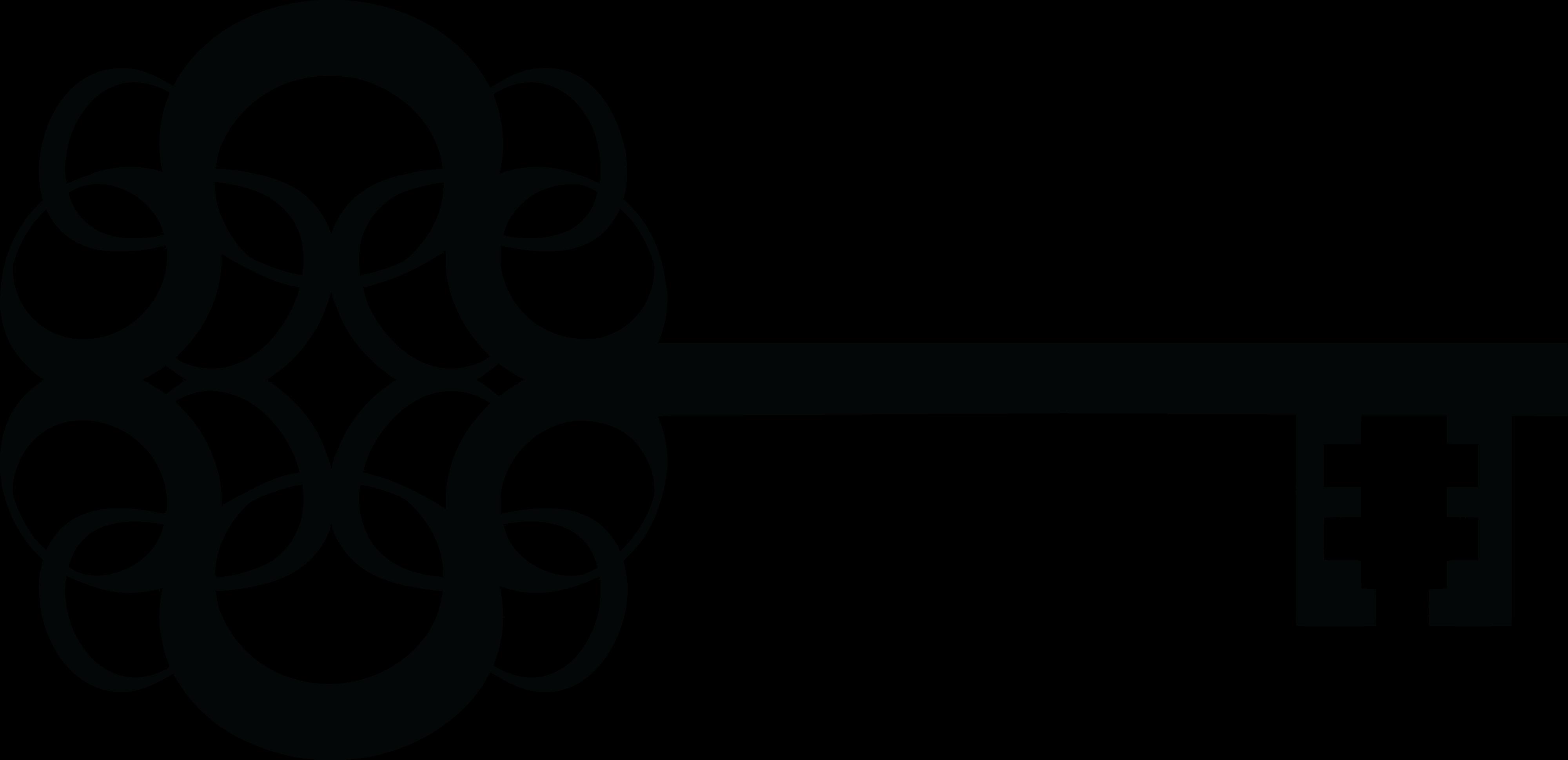 Key silhouette clip art. Clipart skeleton fancy