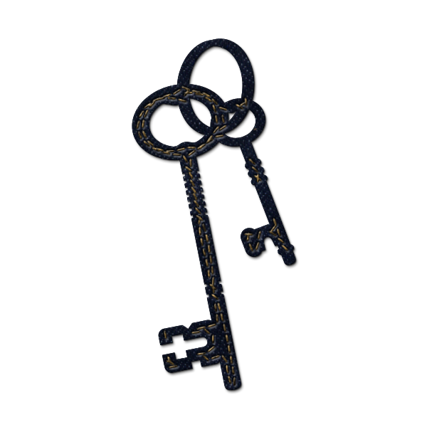 Keys clipart skelton.  collection of free