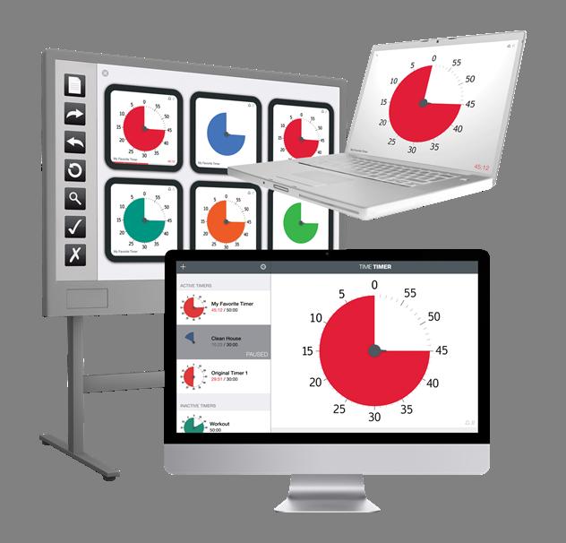 Website clipart computer time. Timer software timetimer desktop