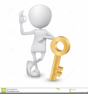 Key to free images. Keys clipart success