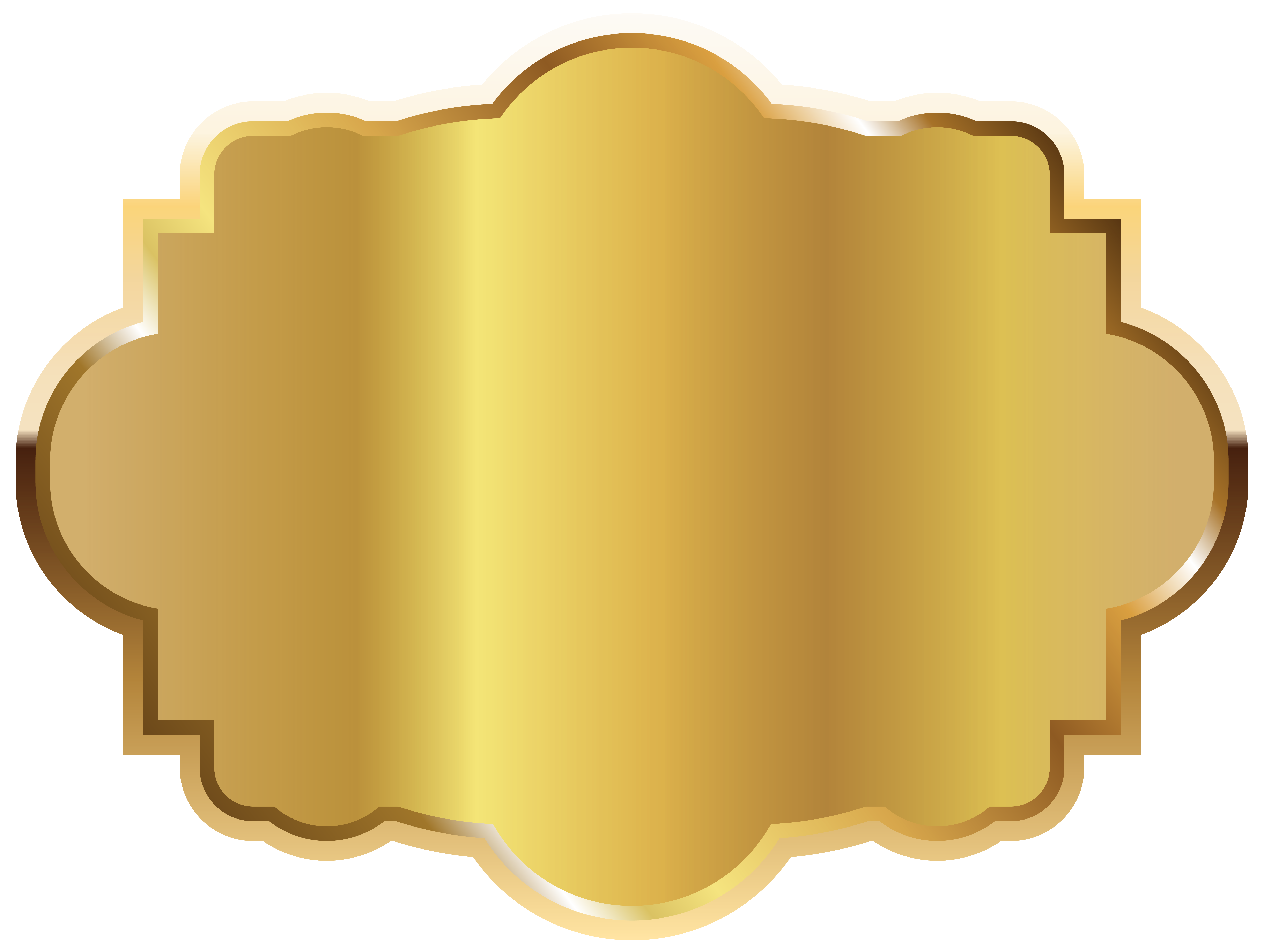 Gold template picture gallery. Label clipart halloween