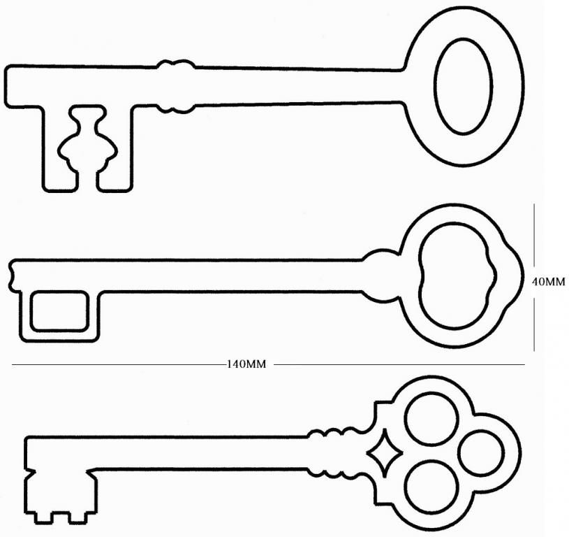 Keys clipart template. Pin on my castle