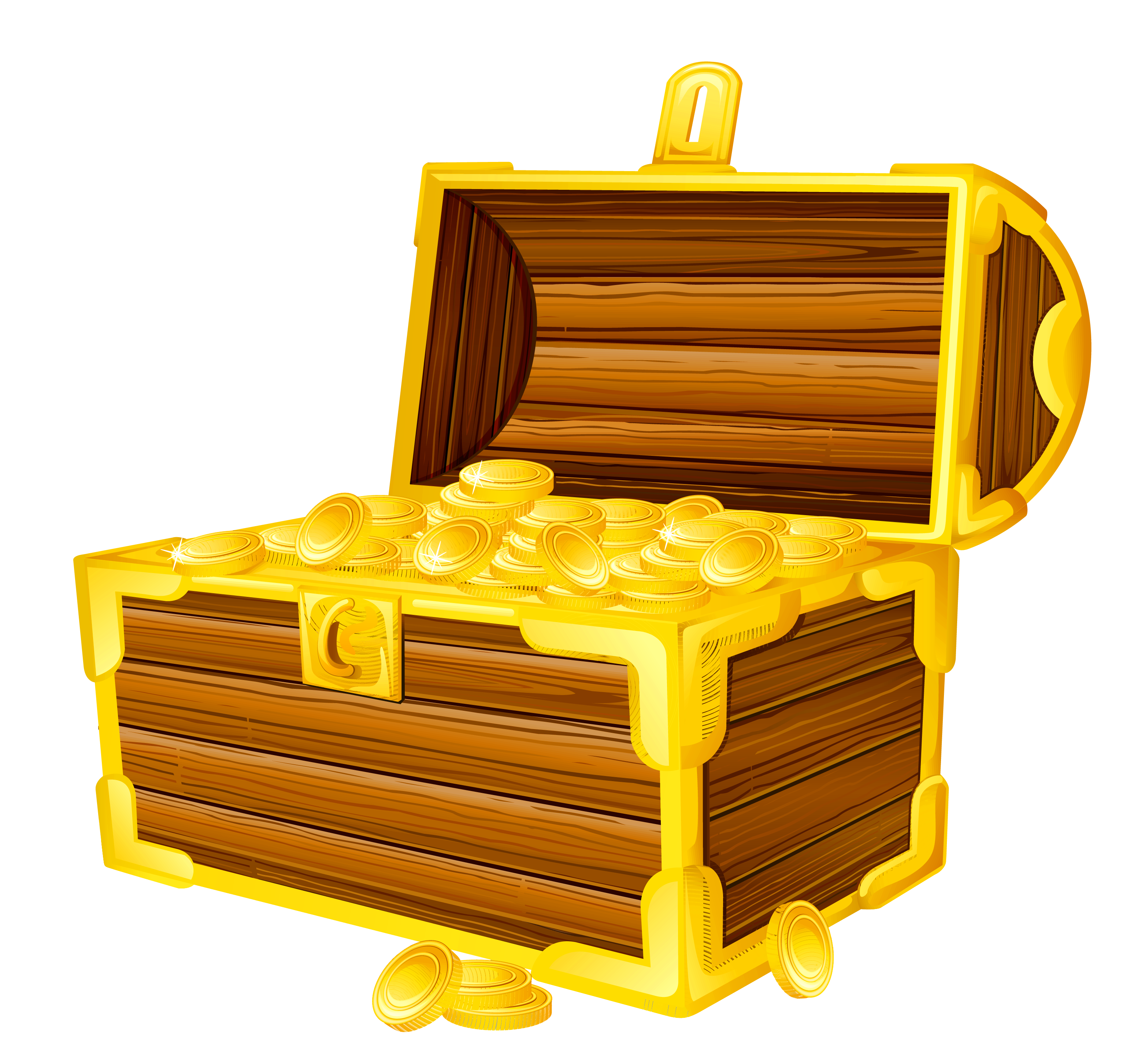 Png picture gallery yopriceville. Clipart key treasure chest