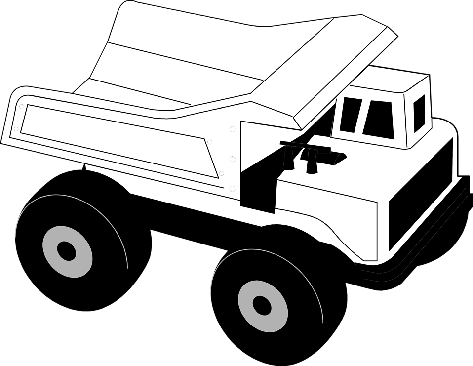 collection of construction. Clipart trees truck