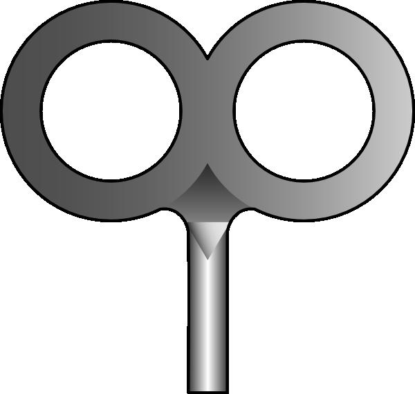 Keys clipart svg. Windup key clip art