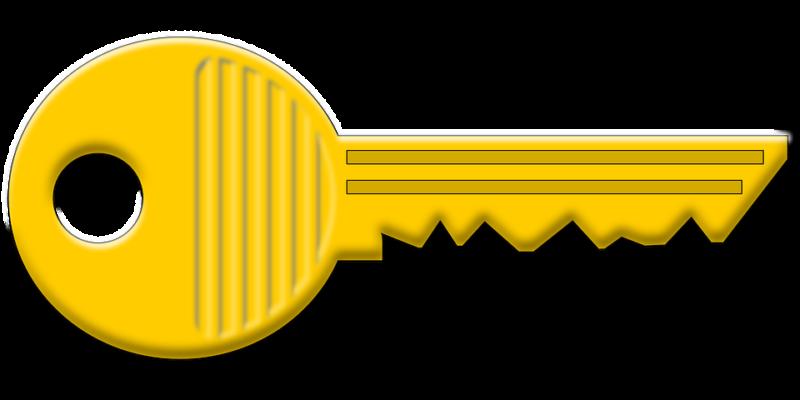 Keys yellow