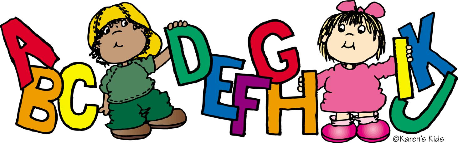 Free letters cliparts download. Learning clipart primary school student