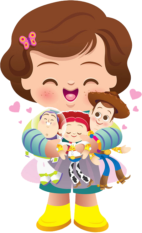 Infant clipart baby hair. Toy story kid free