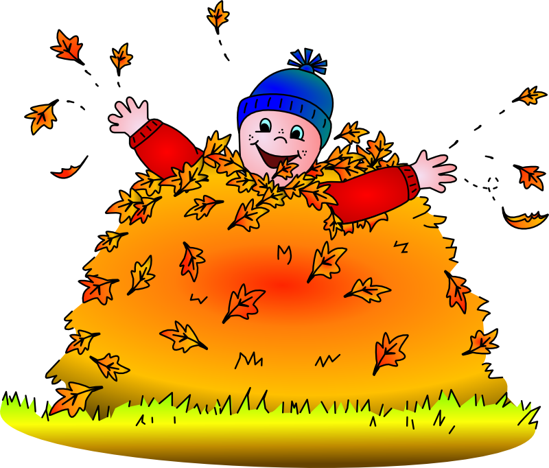 Leaf clipart kid.  collection of jumping