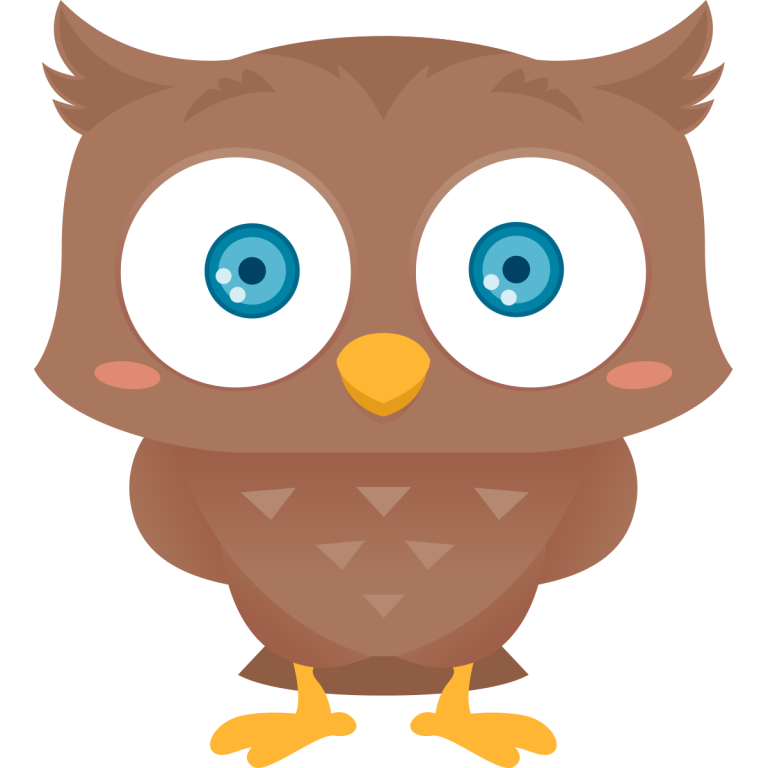 Free cute owl kid. Owls clipart january