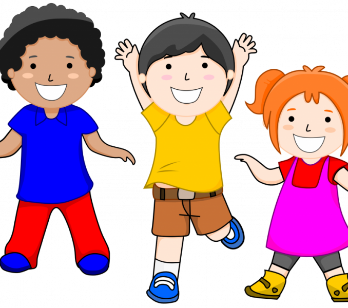 Kids Smiling Clipart