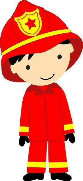 Pin by ainn lee. Fireman clipart kid