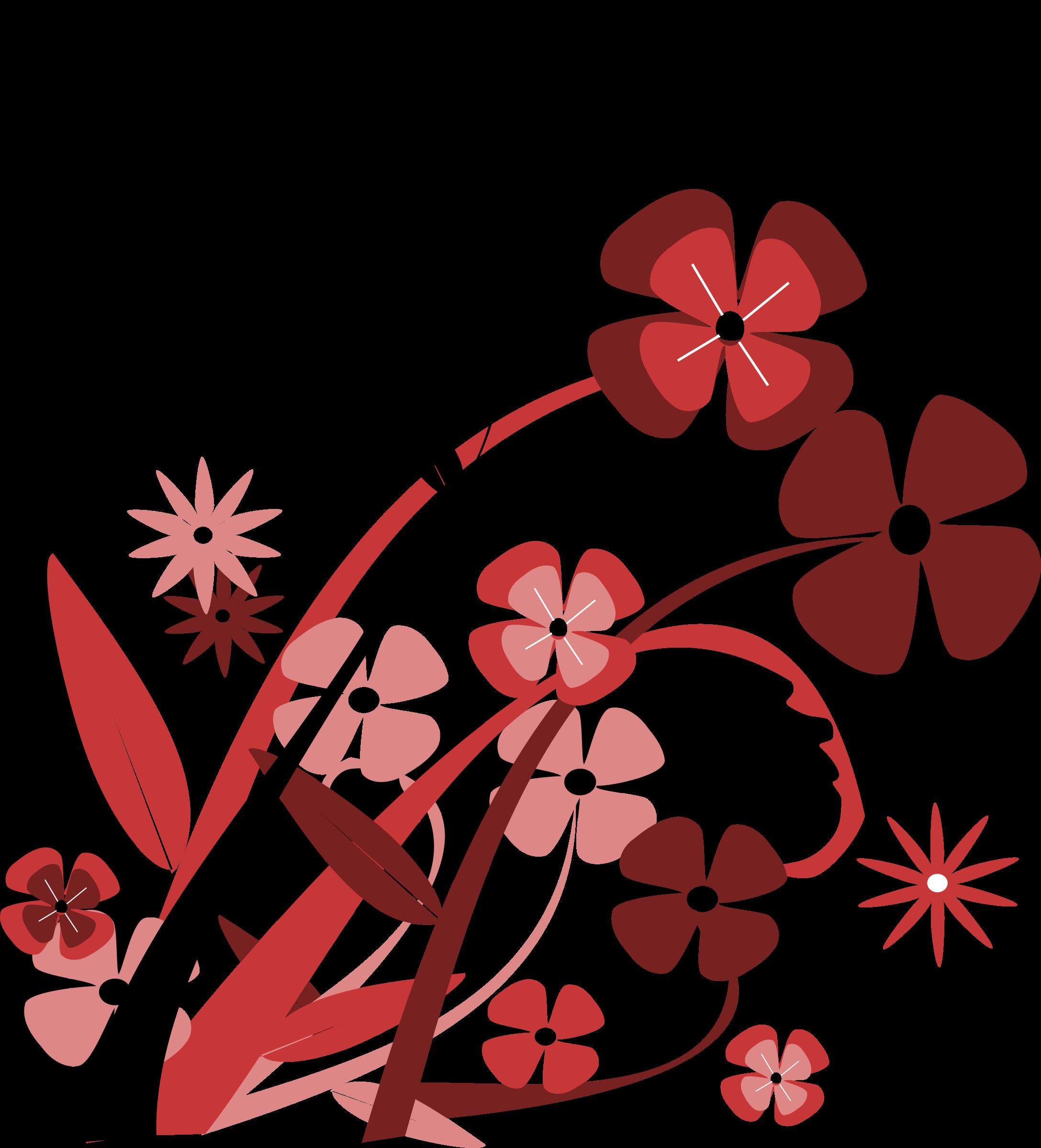 Flower spring big image. Planting clipart kid