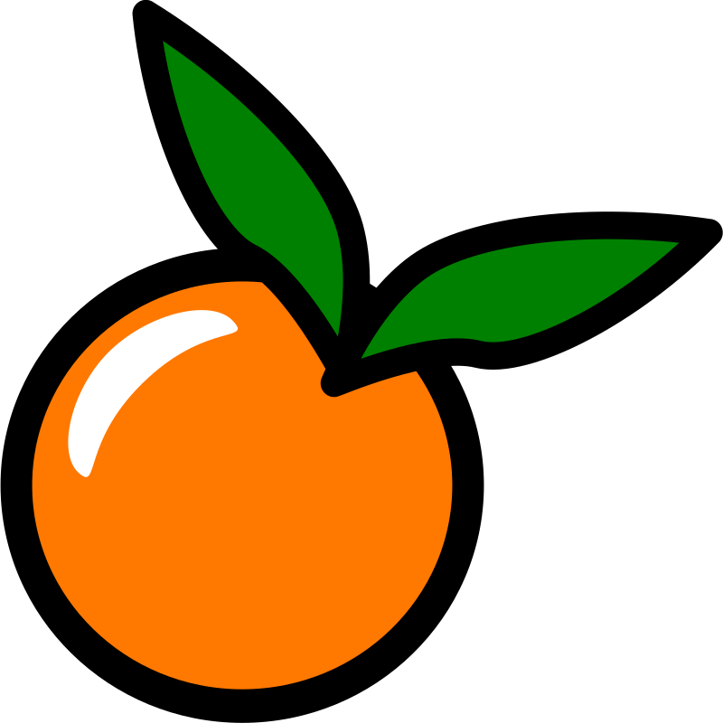 Fruits clipart kid.  collection of orange