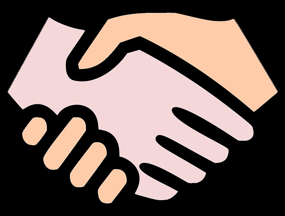 Handshake clipart respect. Caring affordable kids self