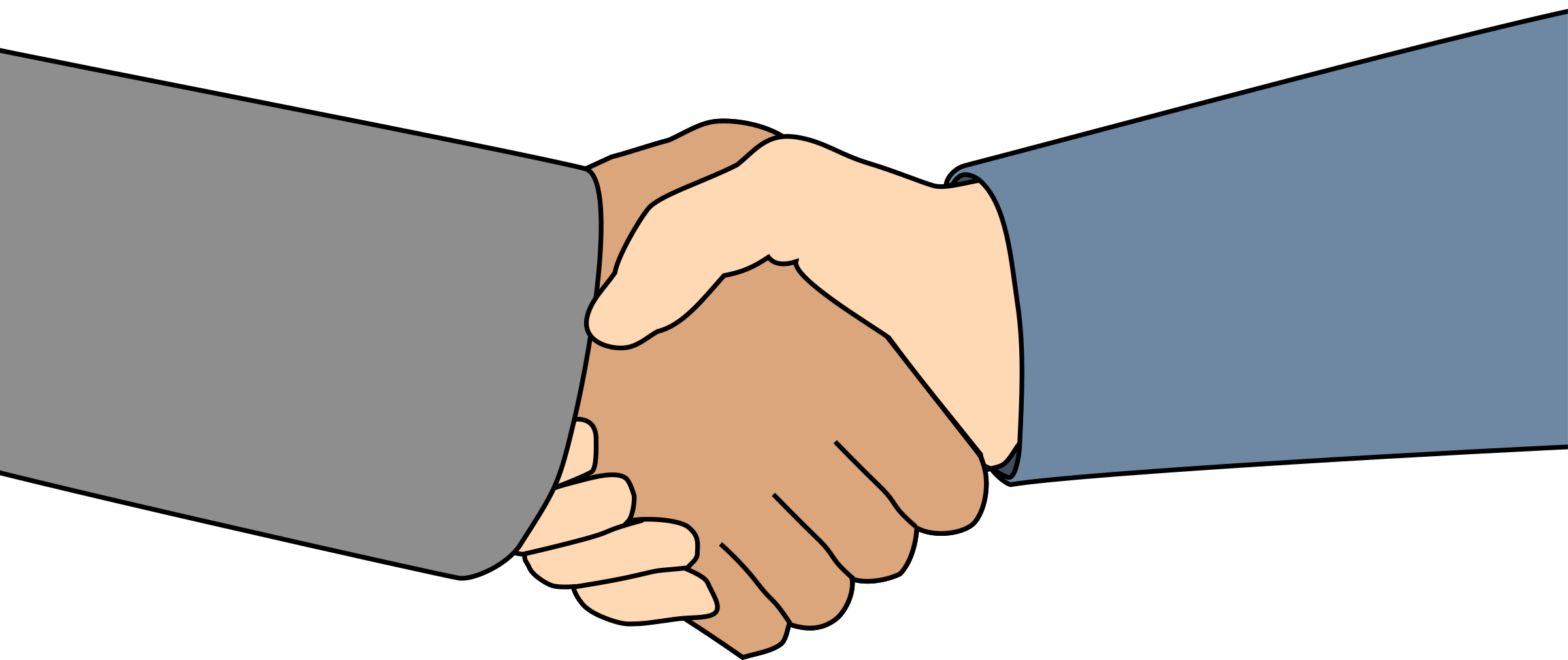 collection of high. Handshake clipart day