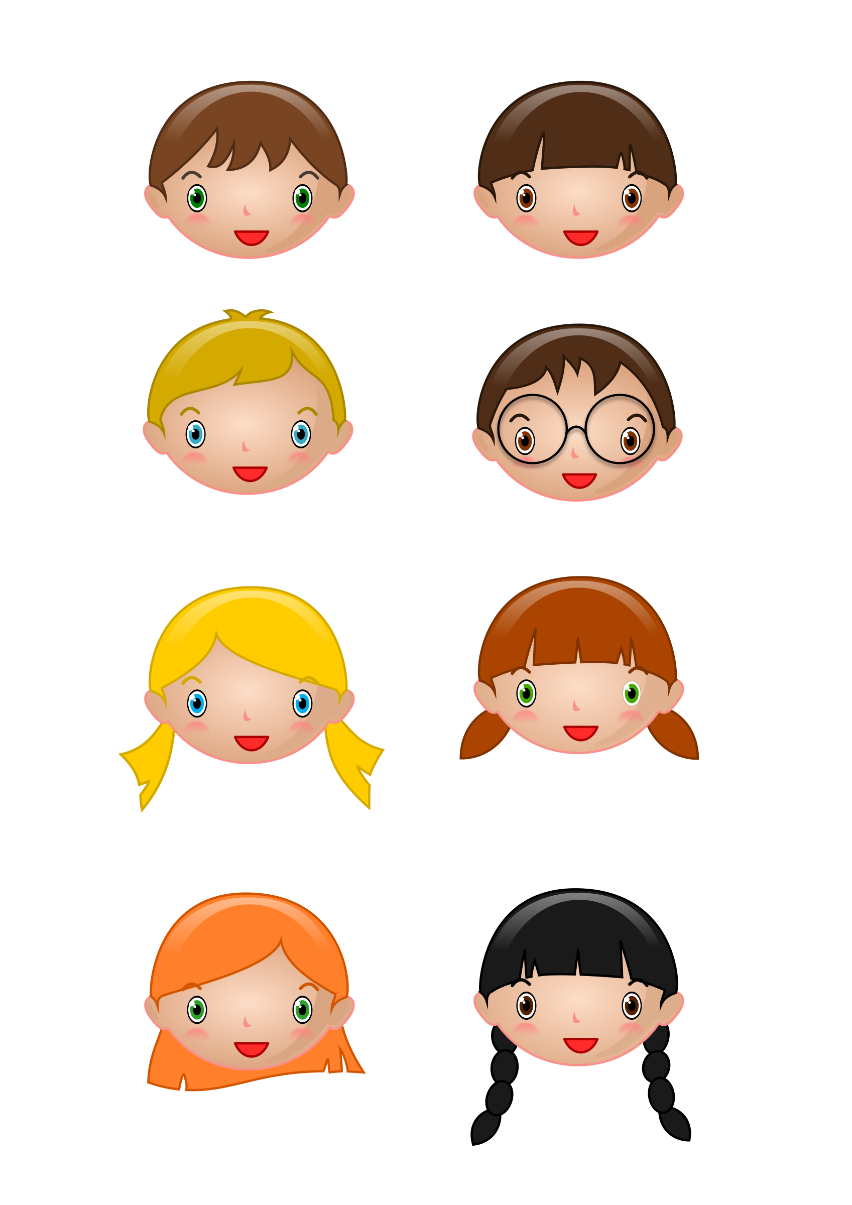 Kids head