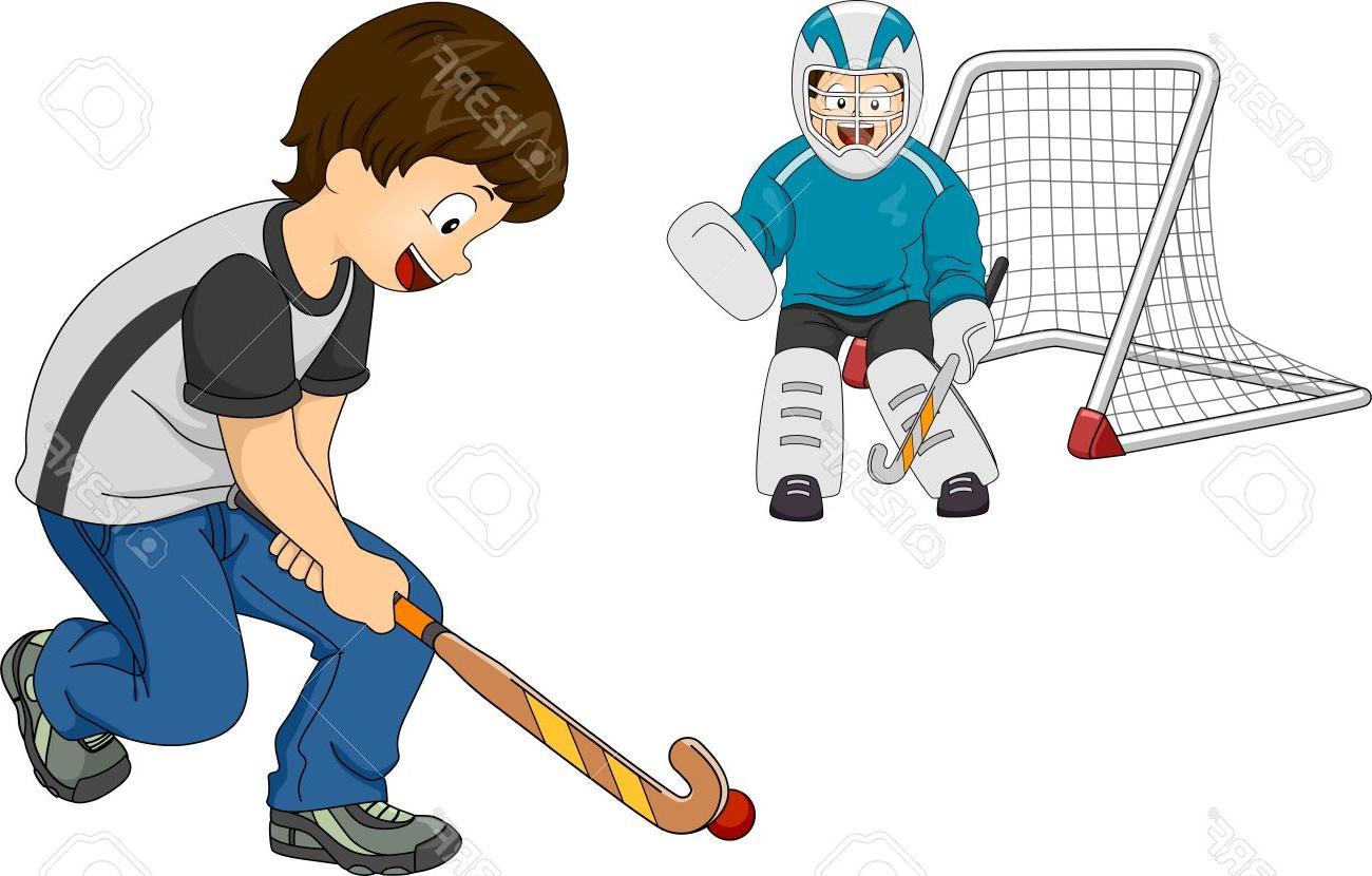 Best kid player vector. Hockey clipart hockey fan