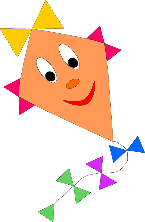 Why does a kite. Fly clipart kid