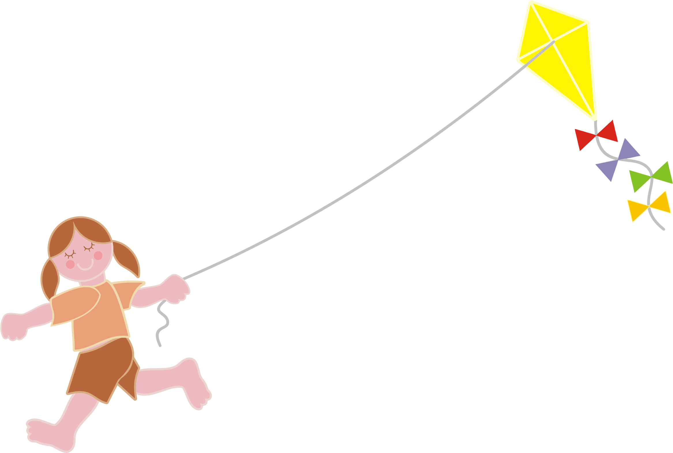 Kite clipart yellow. Go fly a bonkers