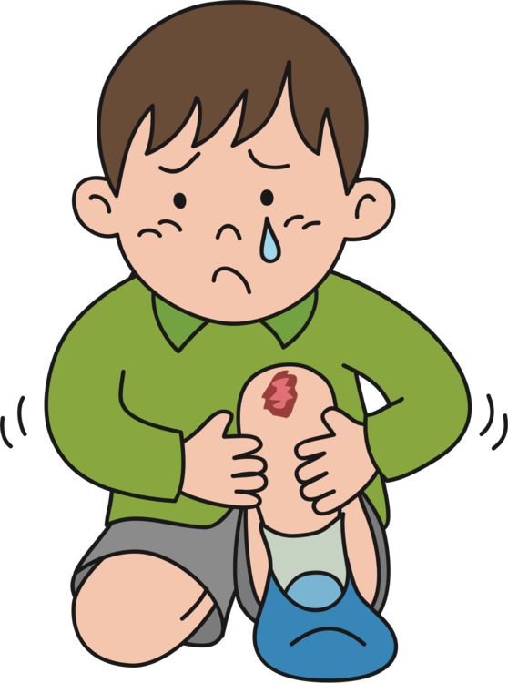 Injury clipart scraped knee. Hd pain kneeling crying