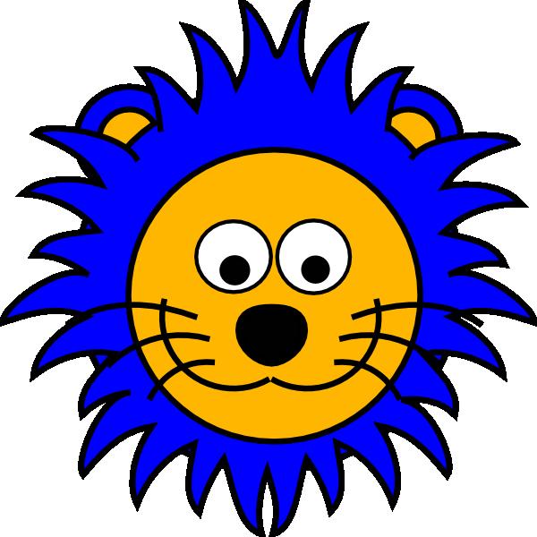 Lion cartoon vector illustration. Noodle clipart stock