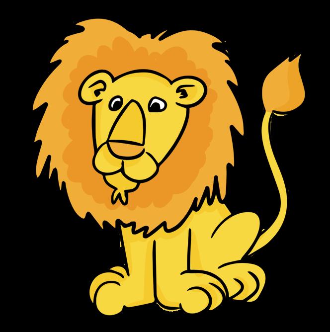 Pe blog trends ideas. Clipart swimming lion