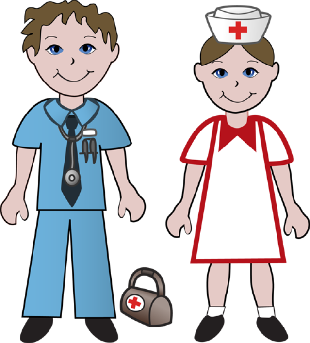 collection of kids. Needle clipart doctor