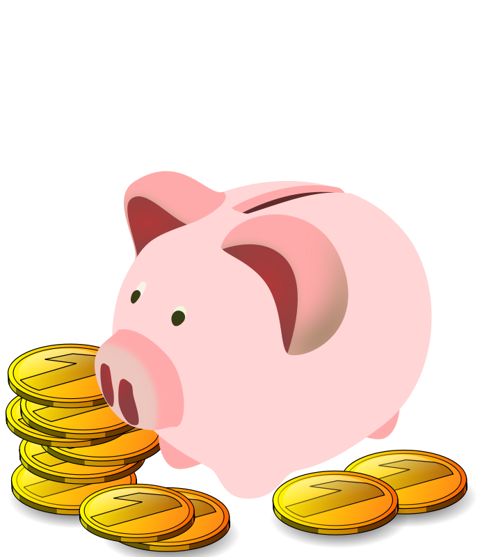 Kids clipart money.  collection of saving