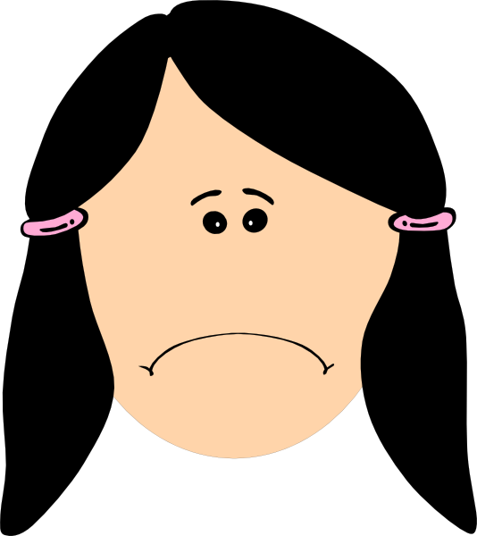 Employee clipart sad.  collection of child