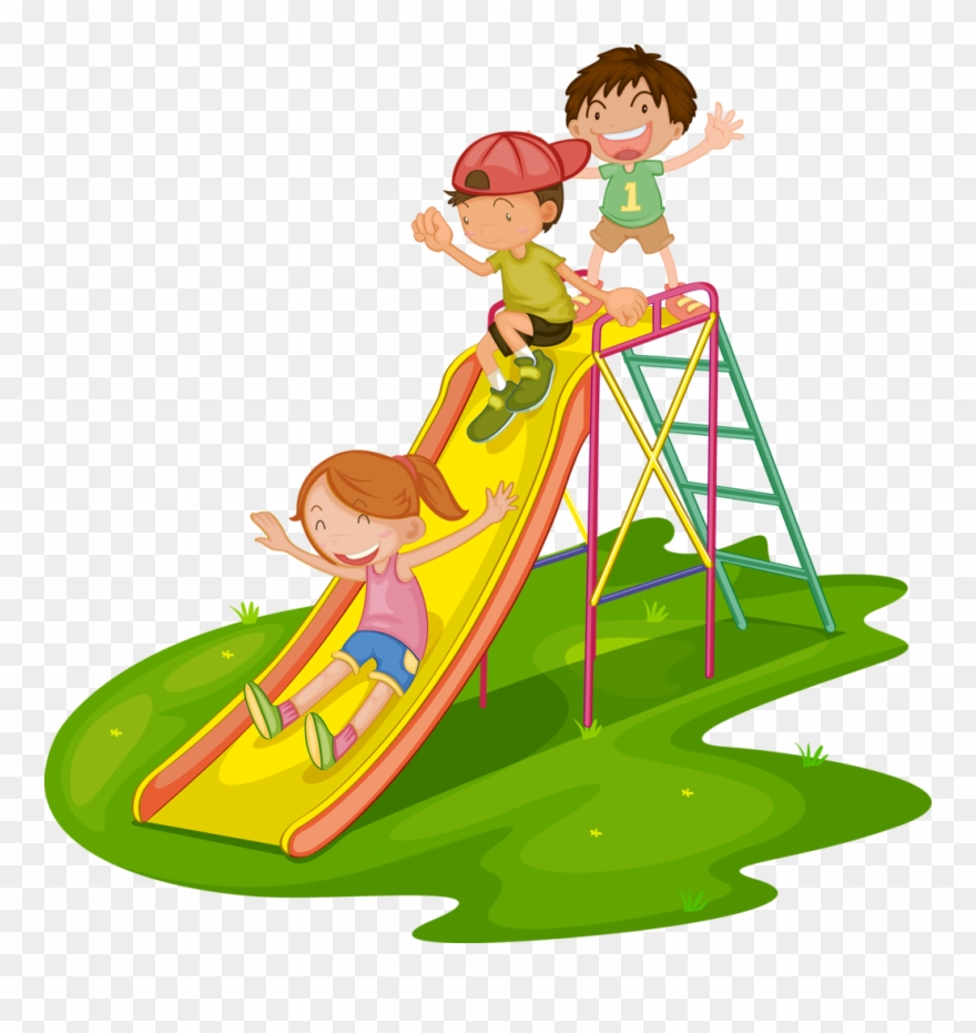 Clipart park toddler playground. Kids mat slide png