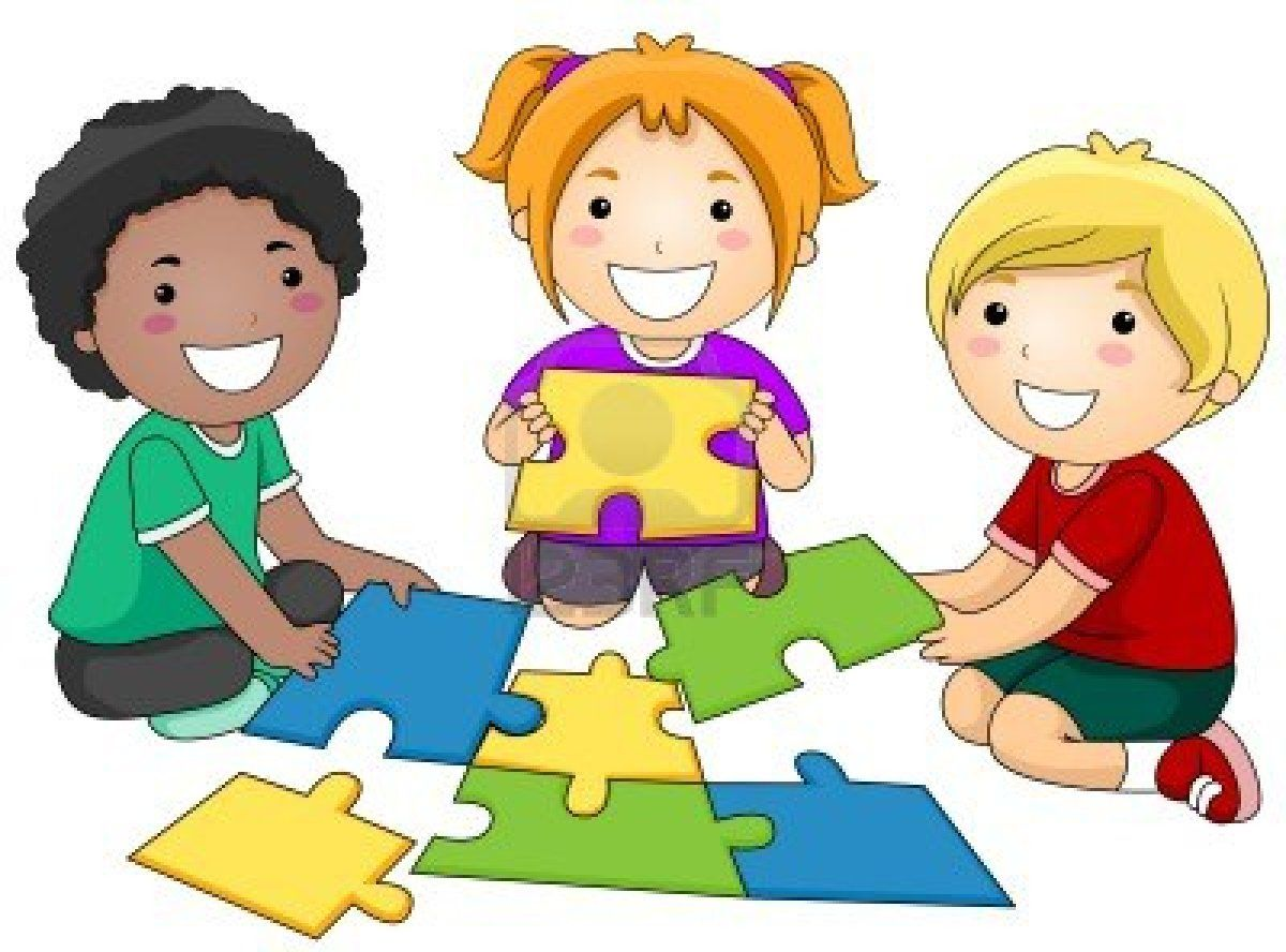 Stock photo habits happy. Puzzle clipart share toy