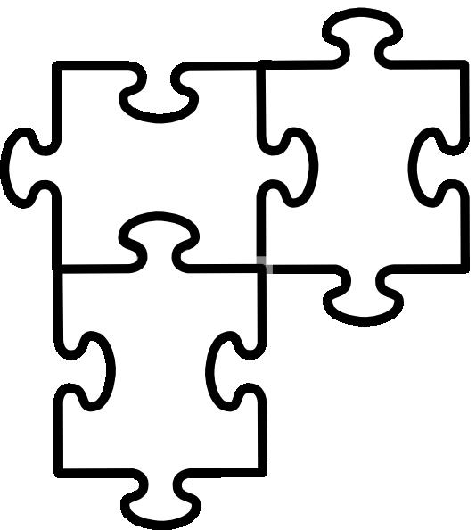 Puzzle clipart 6 piece. Beads wholesale autism pattern
