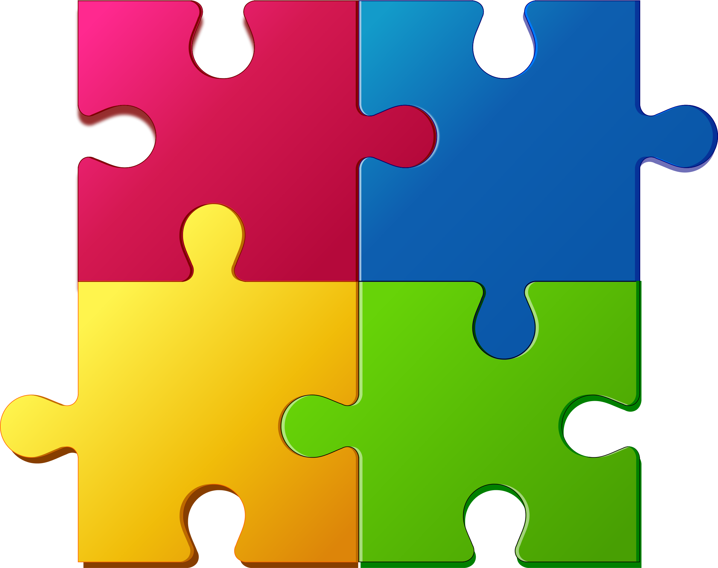collection of puzzle. Professional clipart powerpoint