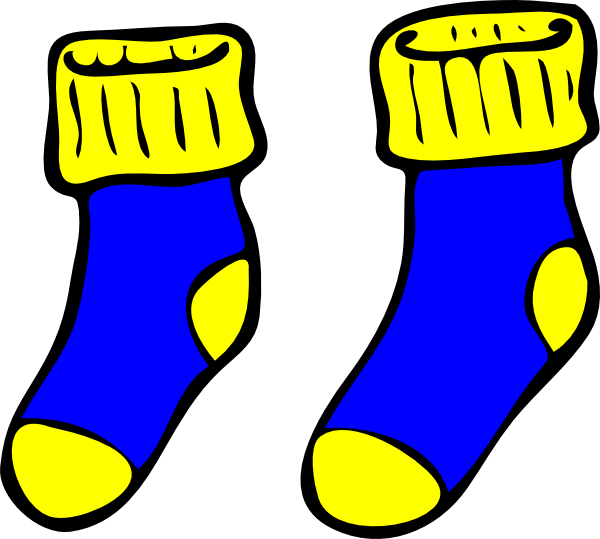 collection of images. Wednesday clipart sock