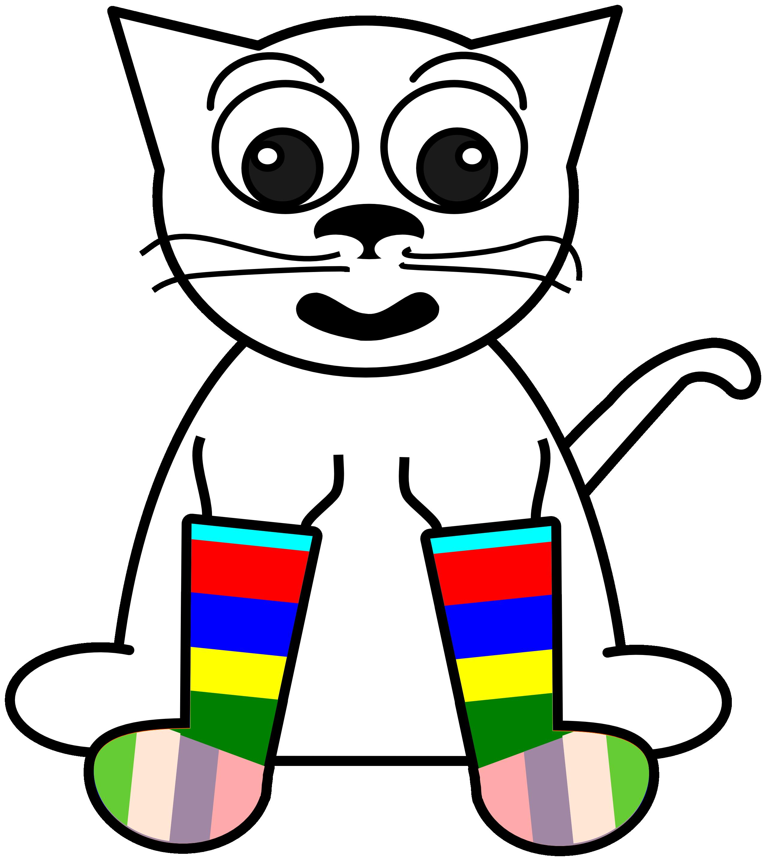 Art clip clipartist panda. Clipart kids sock