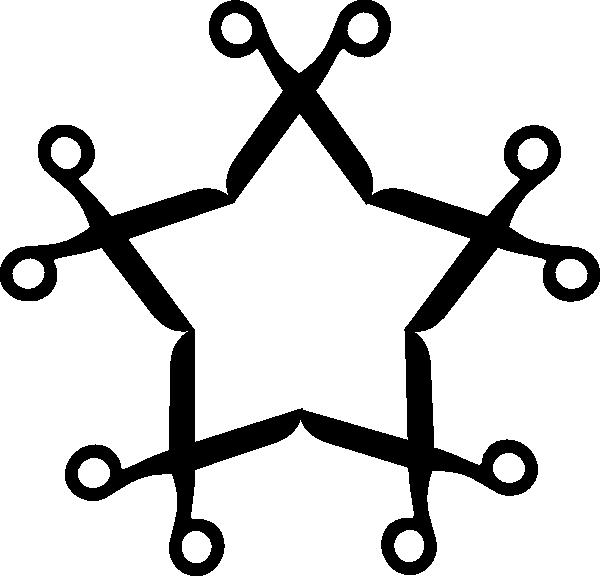 Scissor star clip art. Clipart scissors cartoon